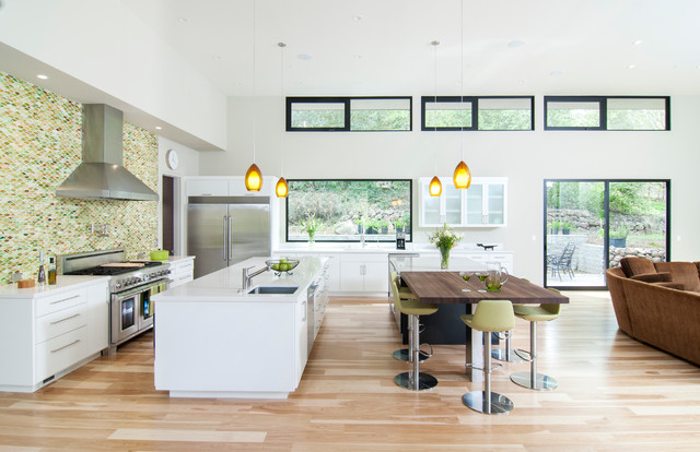 #83 – MJK Homes – Los Altos Hills contemporary-kitchen