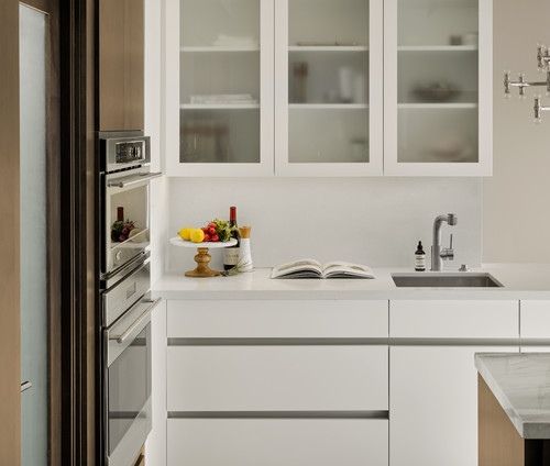 How To Decide Between Upper Kitchen Cabinets, Open Storage