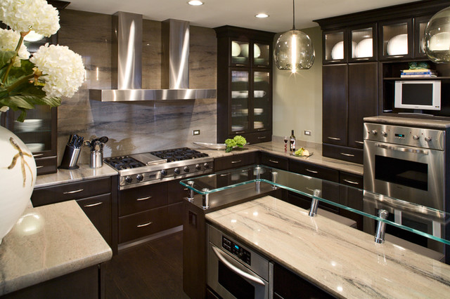 Contemporary Kitchen Remodel - Contemporary - Kitchen - Chicago - by ...