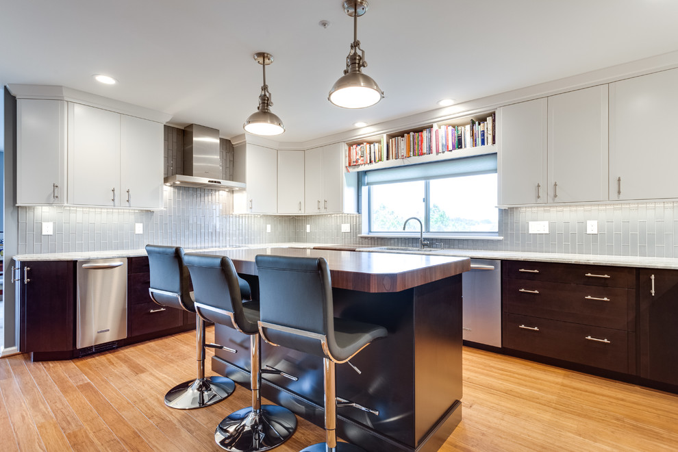 Contemporary Kitchen Remodel Frederick, MD - Contemporary ...
