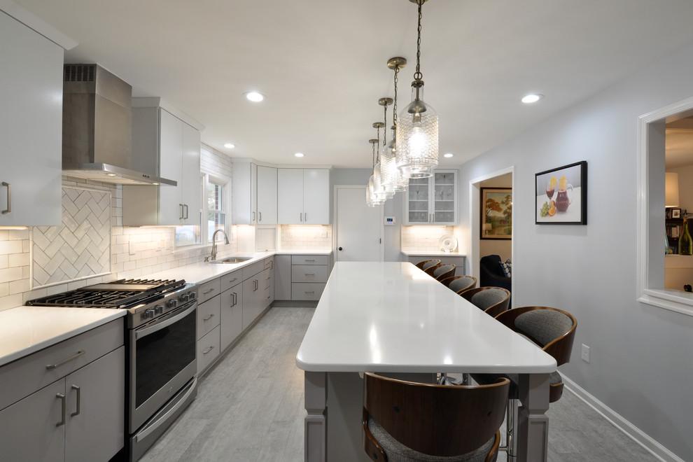 Contemporary Kitchen Remodel Fredericksburg, VA ...