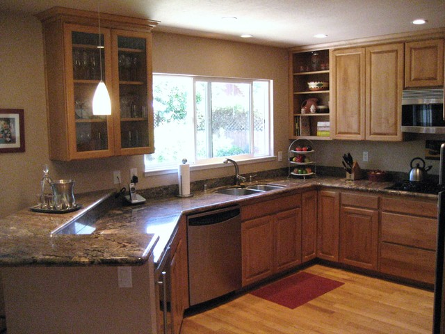 Contemporary Kitchen Remodel traditional-kitchen