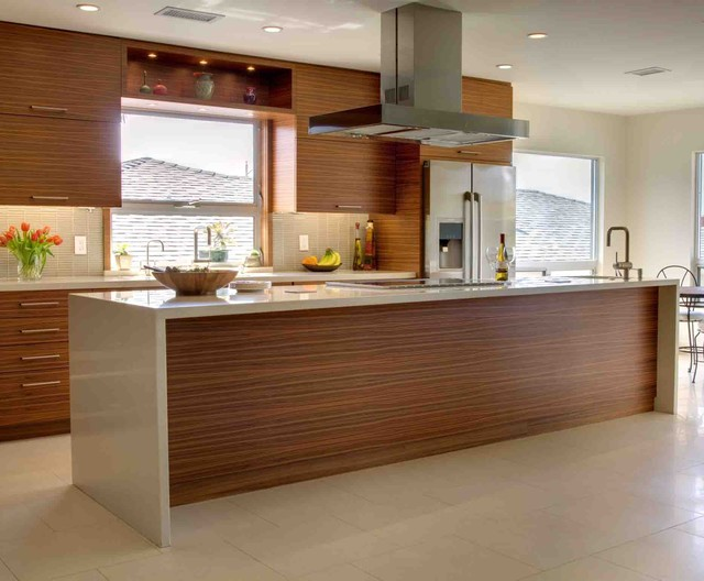 modern timber kitchen 1