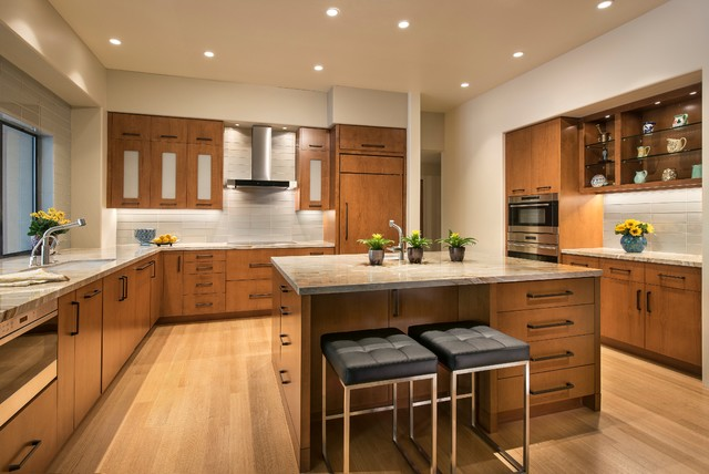 Contemporary Kitchen Remodel View - Kitchen remodeling contest