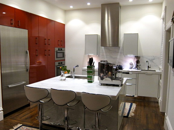 Contemporary Kitchen Renovation By Dresner Design Chicago Contemporary Kitchen Chicago