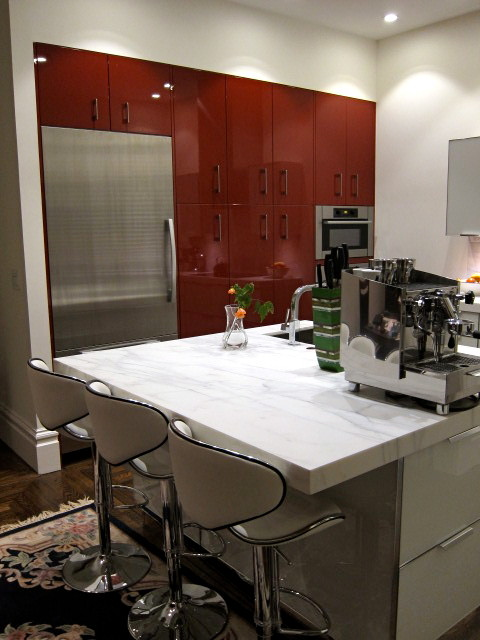 Contemporary Kitchen Renovation By Dresner Design