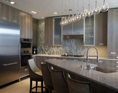 Wesley Grove Condominium Kitchen contemporary kitchen