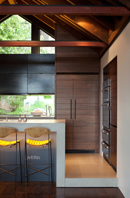The Hillside House modern kitchen