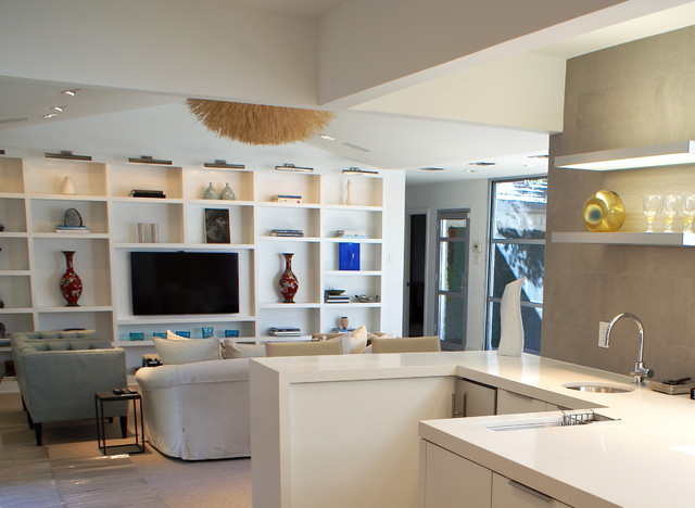 contemporary kitchen by Sara Cukerbaum