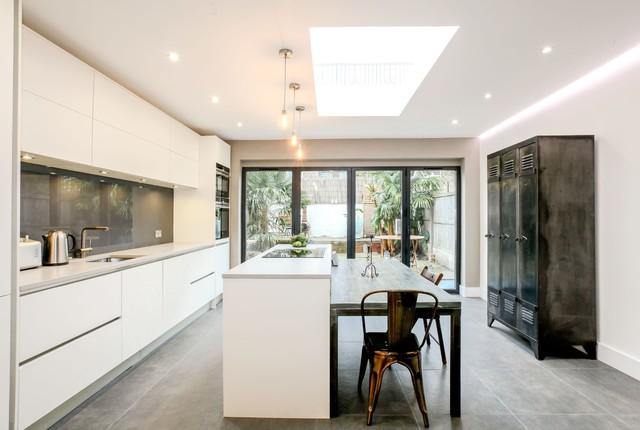 Ealing broadway kitchen contemporary kitchen london for Kitchen ideas ealing