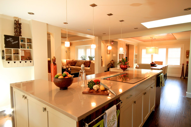 The Ease of Entertaining contemporary-kitchen