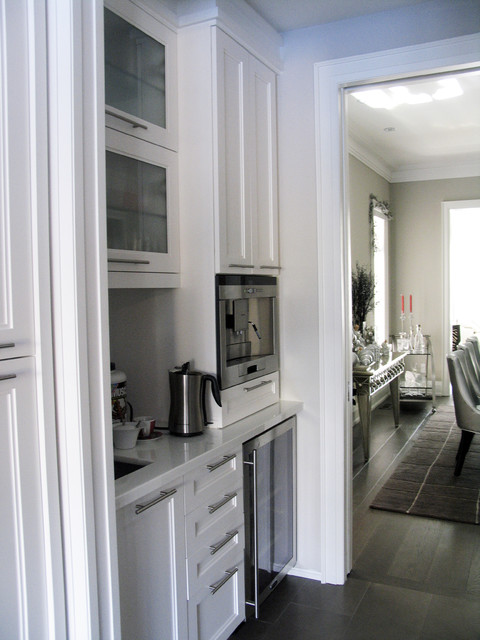 Hoggs Hollow Home contemporary-kitchen