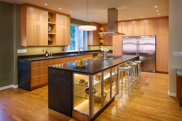Contemporary Kitchen - Contemporary - Kitchen - Seattle - by Ventana Construction LLC