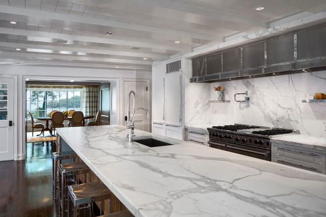 Water View Darien Ct Contemporary Kitchen New York By Vicente Burin Architects