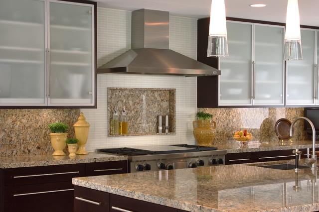Kitchen, Wine Closet & Powder Bath contemporary-kitchen