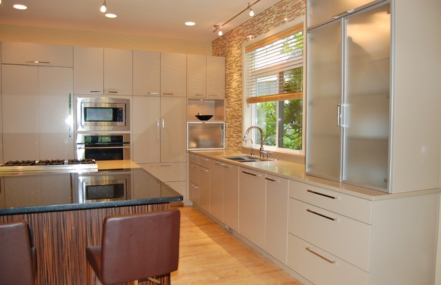 Washington Park Contemporary Contemporary Kitchen Seattle By Rainier Cabinetry Design Inc