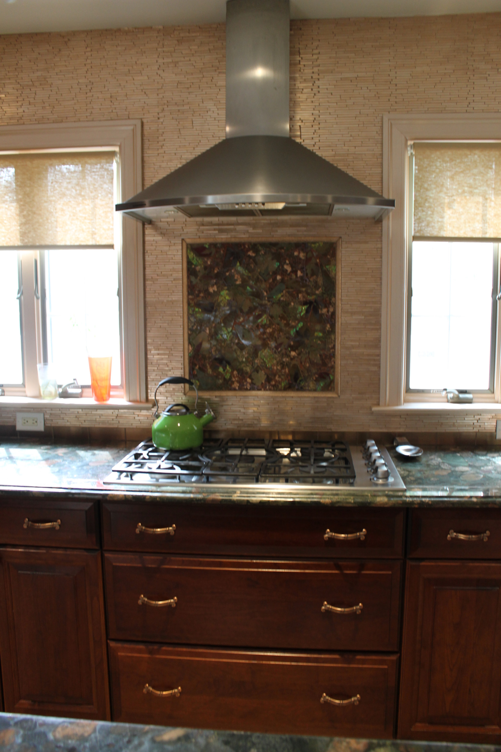 Contemporary Kitchen Woodmere, NY Home