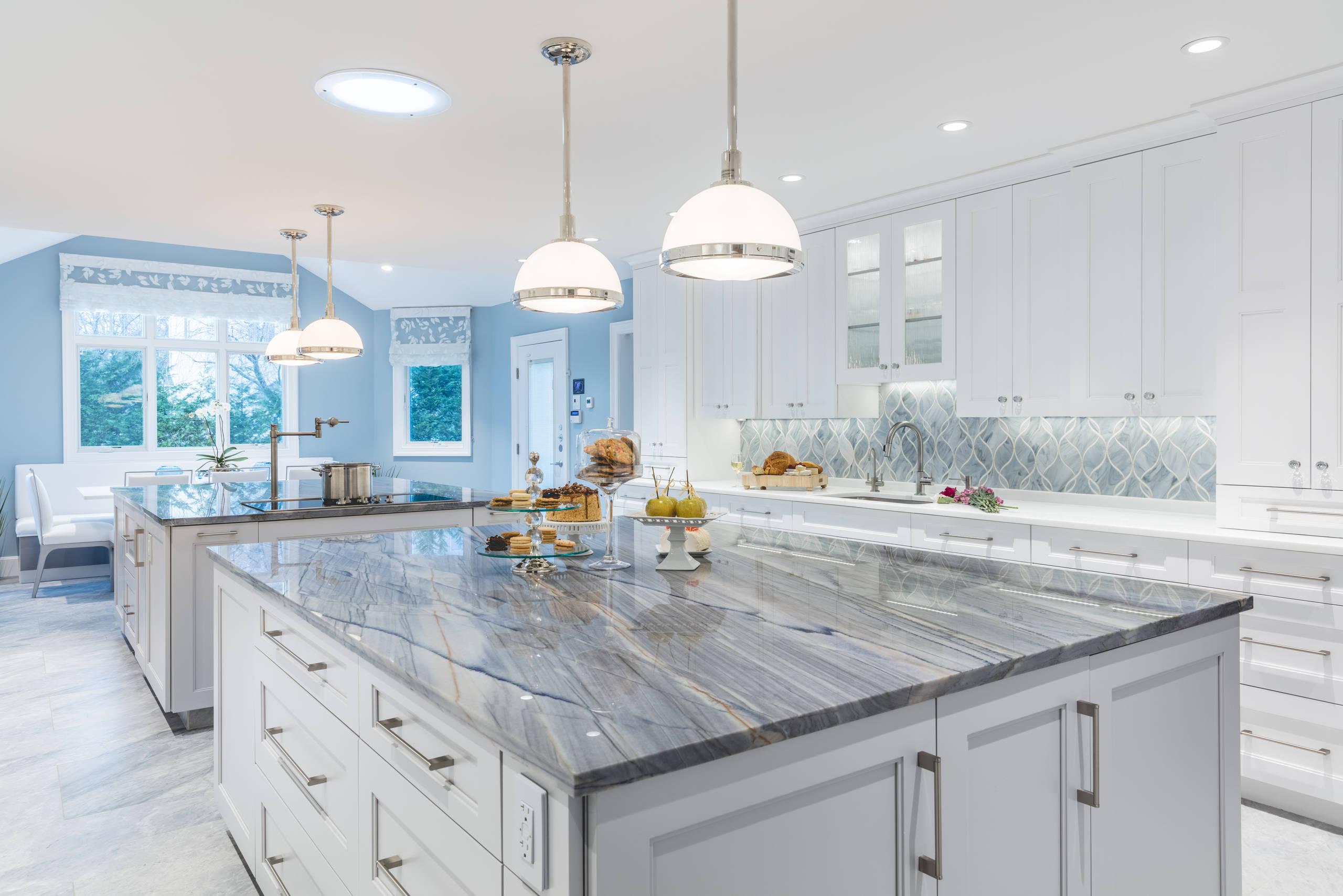 Contemporary Kitchen Woodmere, NY