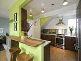 contemporary kitchen 7 Kitchen Flooring Materials to Boost Your Cooking Comfort (8 photos)