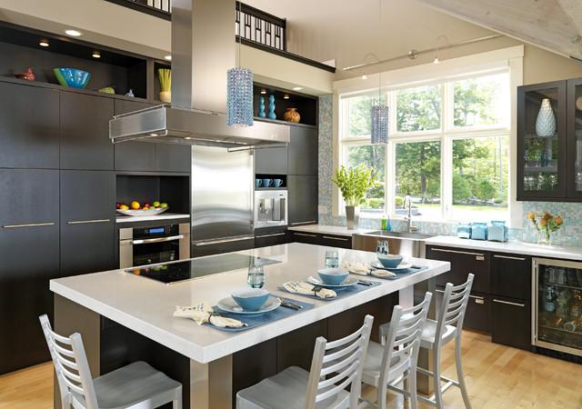 Contemporary Kitchens Contemporary Kitchen Boston By Eileen Kollias Design