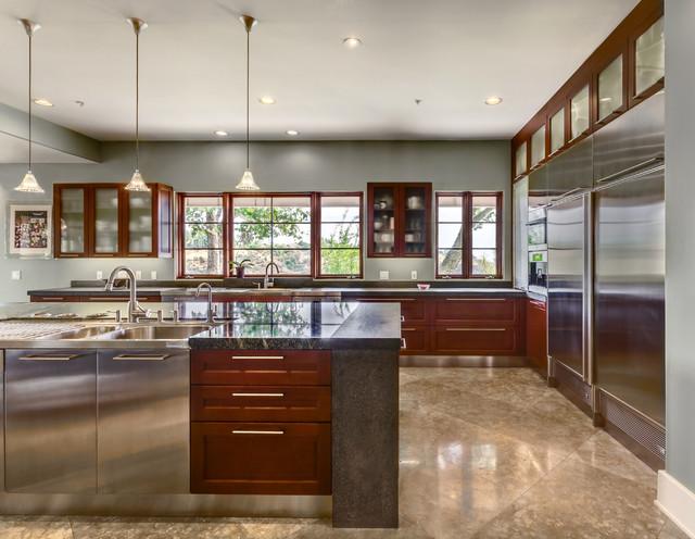 Contemporary kitchens contemporary kitchen los for Contemporary kitchen cabinets los angeles