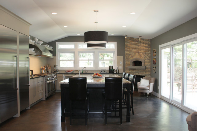 Contemporary Kitchens Contemporary Kitchen Cincinnati By Mauk Cabinets By Design