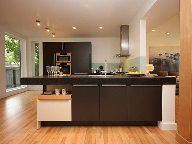 contemporary kitchens poggenpohl plus modo bauhaus look k che calgary von ranger homes inc. Black Bedroom Furniture Sets. Home Design Ideas