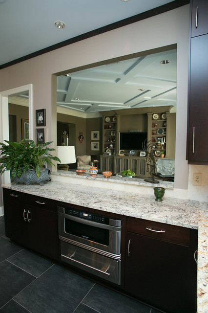 Contemporary Lake Shore Contemporary Kitchen New Orleans By Cabinets By Design
