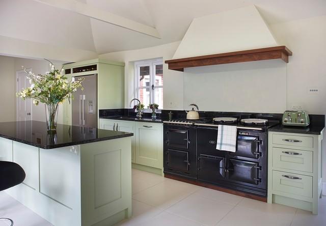 Contemporary, Light & Airy Kitchen  Contemporary  Kitchen  Surrey