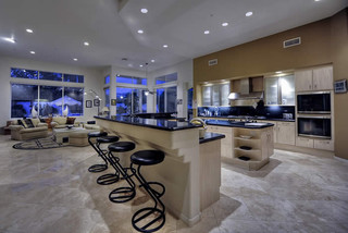 contemporary luxury home contemporary kitchen phoenix by