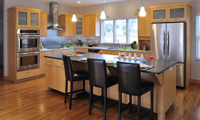 Custom Amish Cabinets contemporary-kitchen