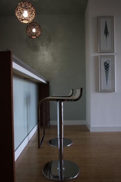 Contemporary Maritime Loft contemporary-kitchen