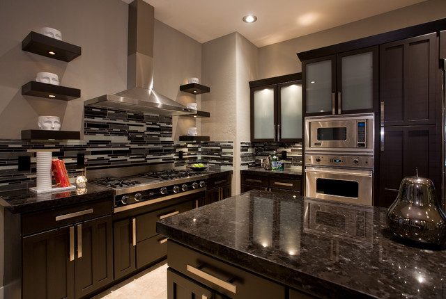 contemporary masculine kitchen - contemporary - kitchen - phoenix