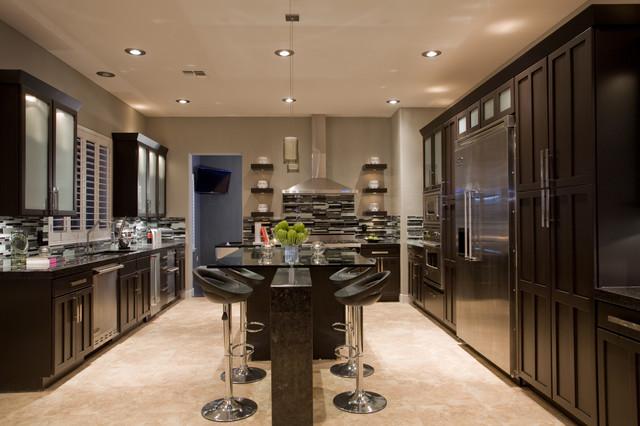 Contemporary Masculine Kitchen Contemporary Kitchen Phoenix