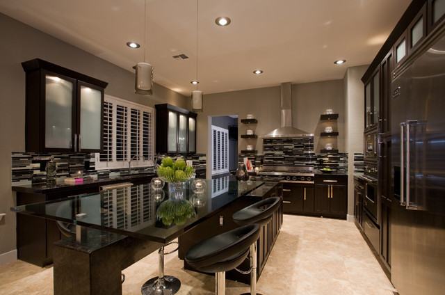 Contemporary Masculine Kitchen