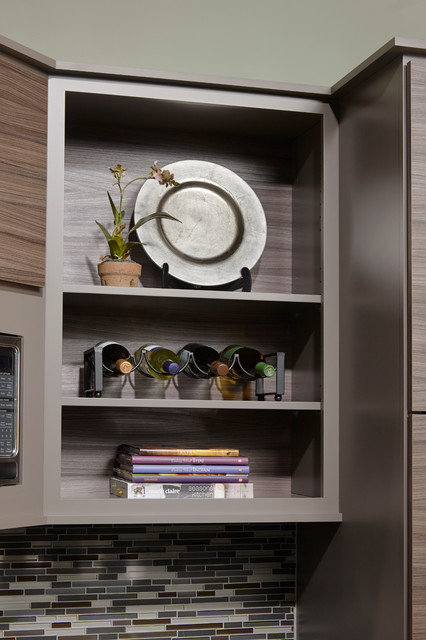 ... Metro - Contemporary - Kitchen - Orlando - by Gold Key Cabinetry
