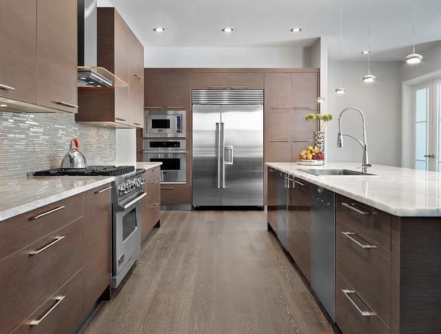 Contemporary modern for Bella cucina kitchen cabinets