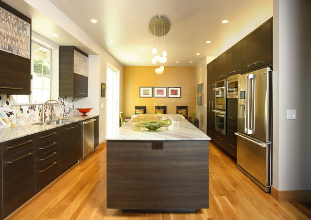 Mustard Color Kitchen - Kitchen Design Ideas