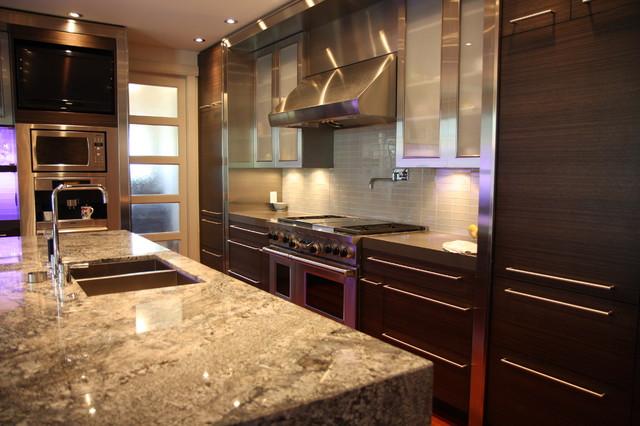 Contemporary Mount Pleasant Ix Contemporary Kitchen Calgary By Dejong Design Associates Ltd