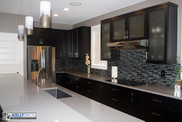 Contemporary New Construction Contemporary Kitchen Cincinnati By Kelly Brothers Home
