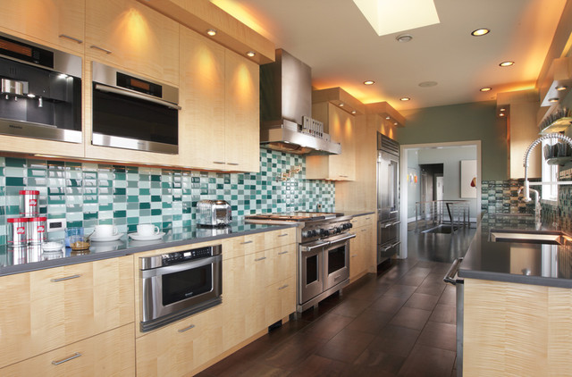 Contemporary Northwest home remodel contemporary-kitchen