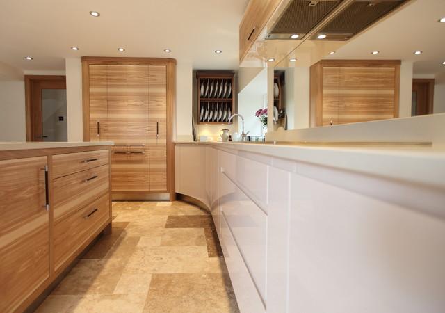 Modern Furniture Hawaii contemporary olive ash, oak and hi-gloss parapan - modern