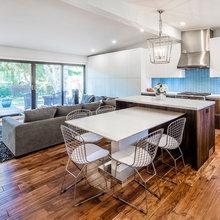 Contemporary Open Concept Kitchen