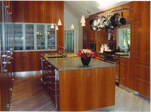 Custom Rooms, Kitchen, Office, Bath, Libraries traditional-kitchen