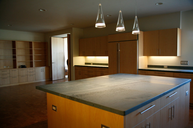 Contemporary Prairie Home contemporary-kitchen