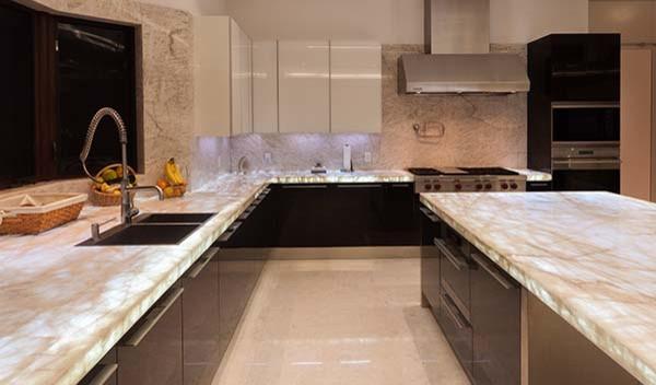 Contemporary Private Residence in Miami contemporary-kitchen