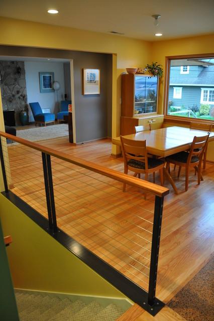 Contemporary Railing contemporary-kitchen