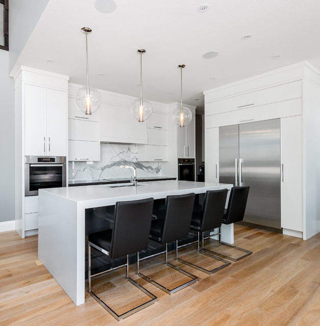 contemporary contemporary kitchen calgary by redl antique white transitional style kitchen modern