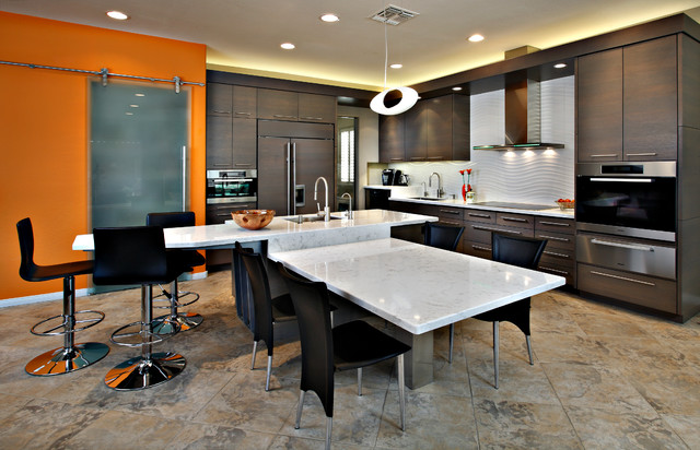 Contemporary Remodel Contemporary Kitchen Phoenix By Carlson Homes Scottsdale