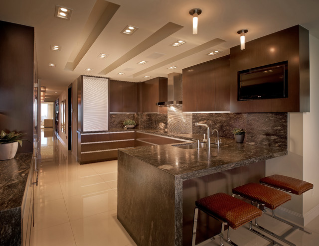 Contemporary Residence Boca Raton Florida Contemporary Kitchen Miami By Interiors By